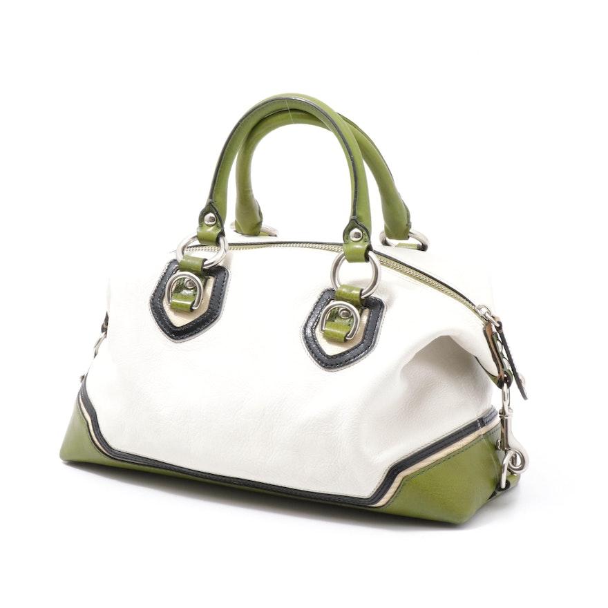 Coach Sabrina Spectator Designer Boutique Leather Convertible Handbag