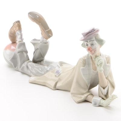 "Lladró ""Clown"" Porcelain Figurine Designed by Salvador Furió, 1971–1974"