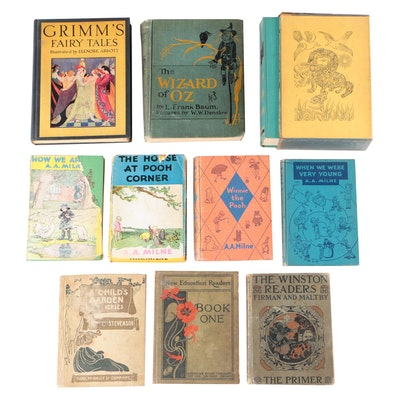 "Children's Books featuring Second Edition ""The Wizard of Oz"" by L. Frank Baum"