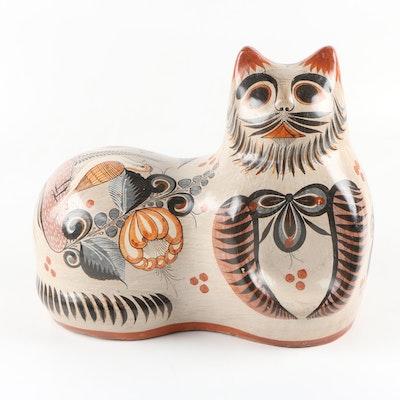 Mexican Tonala Pottery Cat