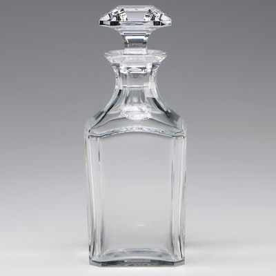 "Baccarat ""Perfection"" Crystal Bourbon Decanter"