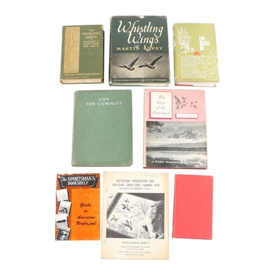 "Game Bird Hunting Books including 1903 First Edition ""The Water-Fowl Family"""
