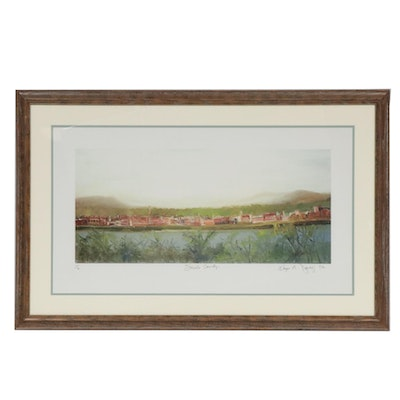 "Kaye M. Daily Lithograph ""Scioto County"""
