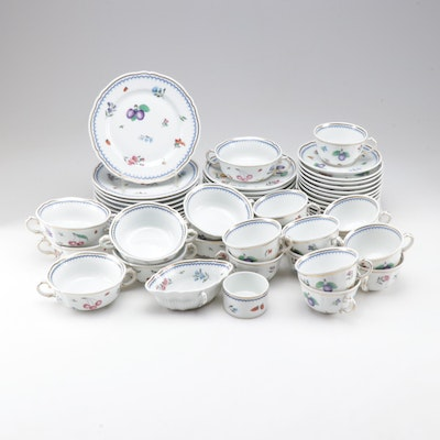 "Richard Ginori ""Perugia"" Porcelain Tableware"