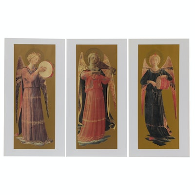 Offset Lithographs After Angelico Fra Giovanni