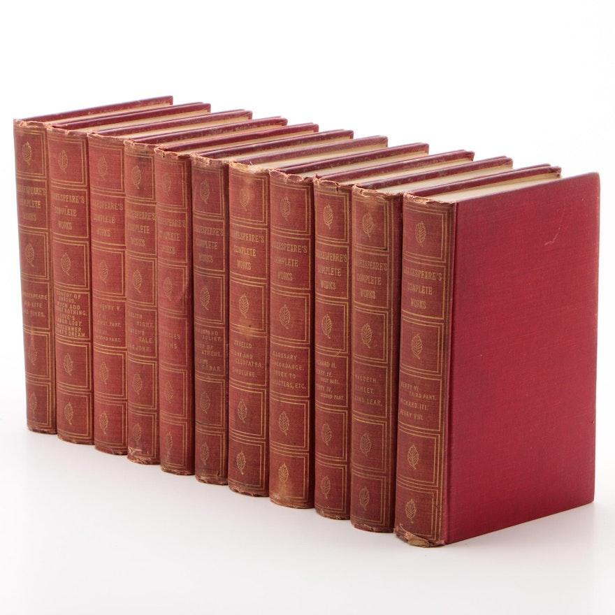 """Shakespeare's Complete Works"" Twentieth Century Edition, 1900"