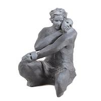 "Sean Corner Terracotta Sculpture ""The Masks That We Create"""