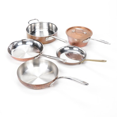 Copper Cookware with Sur la Table, Cuisinart and Lagostina