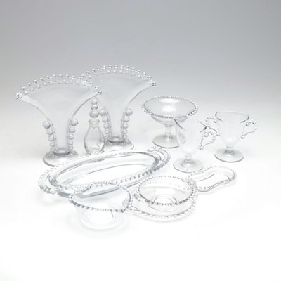 "Imperial Glass ""Candlewick"" Serveware and Table Accessories"