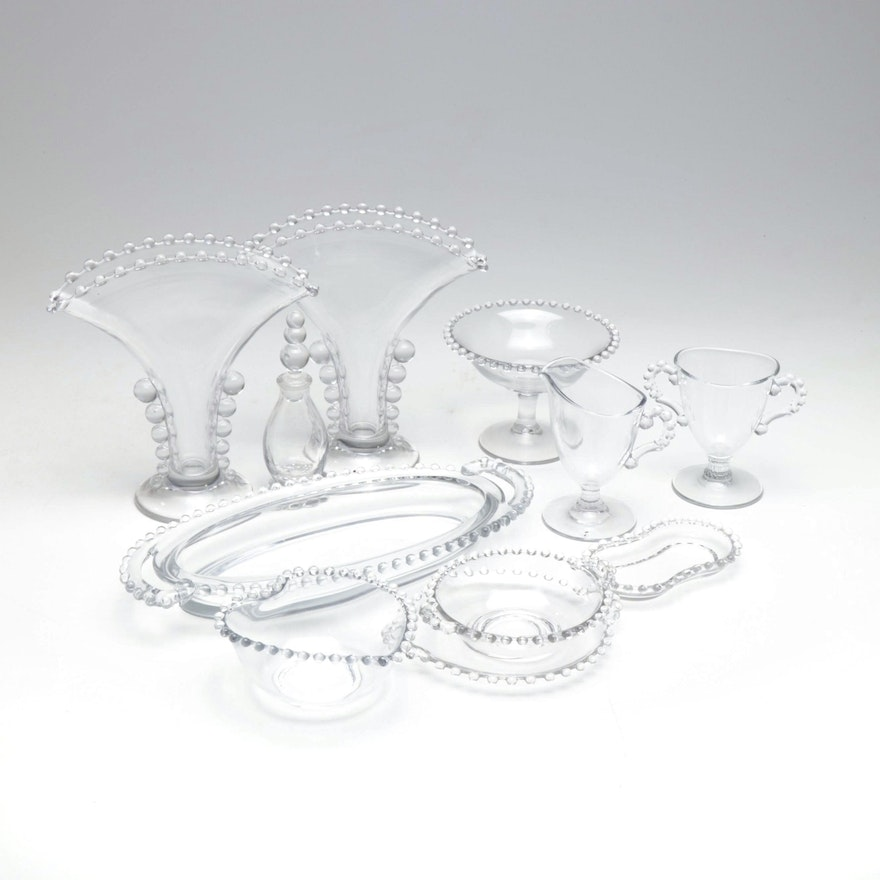 """Imperial Glass """"Candlewick"""" Serveware and Table Accessories"""