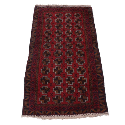 Hand-Knotted Afghani Bahor Rug