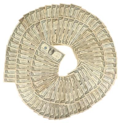 120 U.S. $1 Silver Certificates