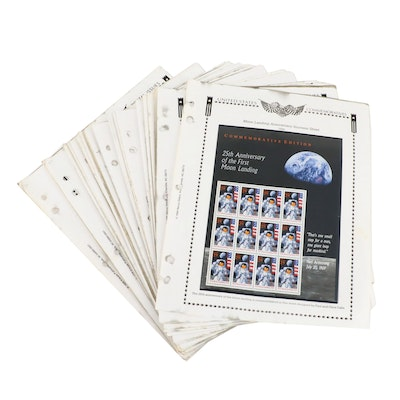 Collection of U.S. Mint Stamps Ranging from 1994-1997