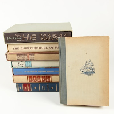 "Nonfiction and Fiction featuring 1928 ""The Book of Old Ships"" by Henry B. Culver"