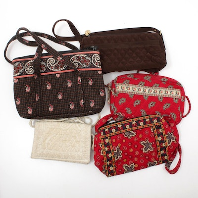 Vera Bradley Quilted Fabric Handbags, Shoulder Bags and Crossbody Bags