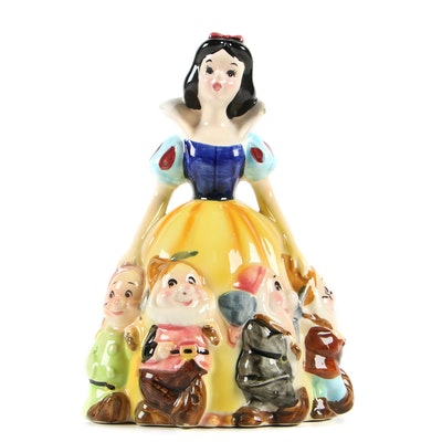 "Enesco for Walt Disney Productions ""Snow White and the Seven Dwarfs"" Figurine"