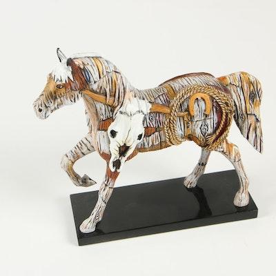 "Lynn Bean for ""Bunkhouse Bronco"" Resin Figurine, 2008"