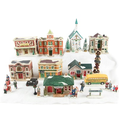 "Dayton Hudson Corp. ""It's A Wonderful Life"" Porcelain Village and more"