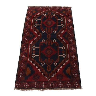 Hand-Knotted Afghani Turkoman Rug