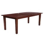 Pier 1 Mahogany Dining Table