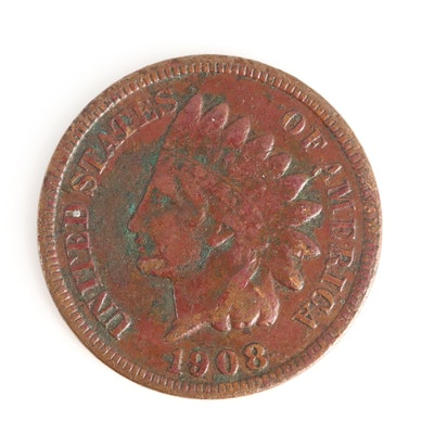 Key Date 1908-S Indian Head Cent