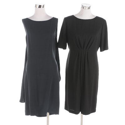 Charles Nolan New York and Elie Tahari Wool and Silk Dresses
