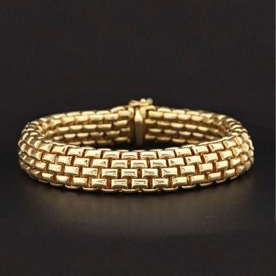 Fope 18K Yellow Gold Link Bracelet