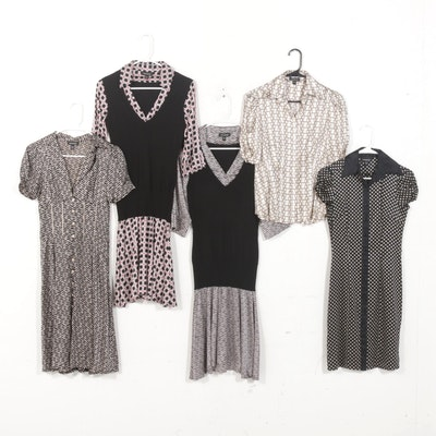 Bebe Silk Dresses and Blouse