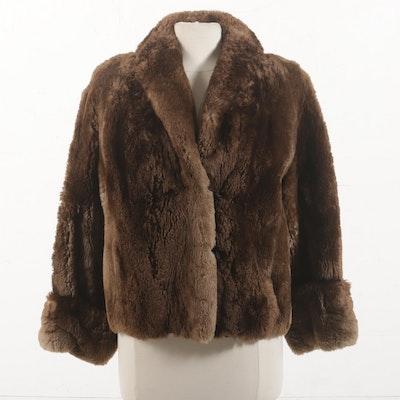 Sheared Beaver Jacket, Mid Century
