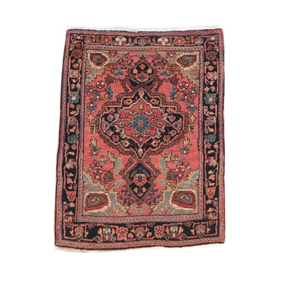 Antique Jozan Sarouk Carpet, Circa 1900