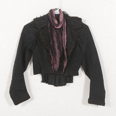 Late Victorian Women's Silk Jacket