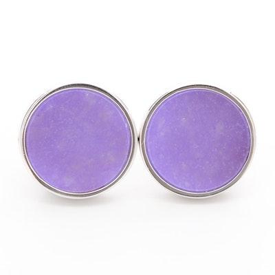 Sterling Silver Quartz Earrings