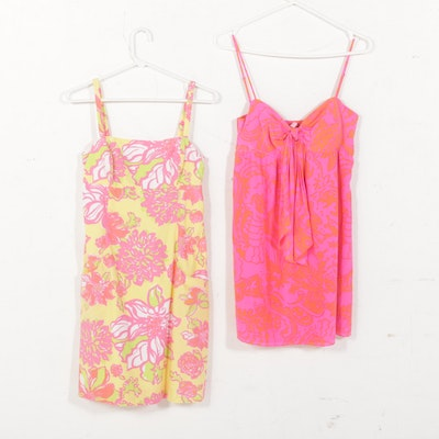 Lilly Pulitzer Silk and Cotton Sundresses