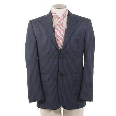 Burberry Sport Jacket with Brooks Bros. Silk Tie