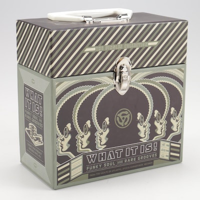 """""""What It Is!"""" Funky Soul and Rare Groves Record Box Set of 45s"""