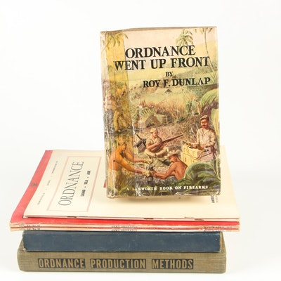 "Books on Ordnance including ""Ordnance Production Methods"" Edited by Charles Herb"