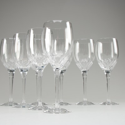 """Orrefors """"Prelude"""" and Other Crystal Wine Glasses"""