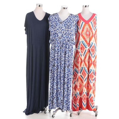 Chico's Solid and Printed Maxi Dresses