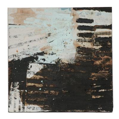 """Todd Camp Mixed Media Painting """"Summation 14"""""""