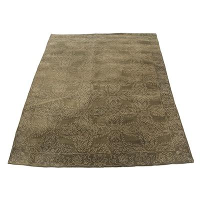 Hand-Tufted Wool Area Rug