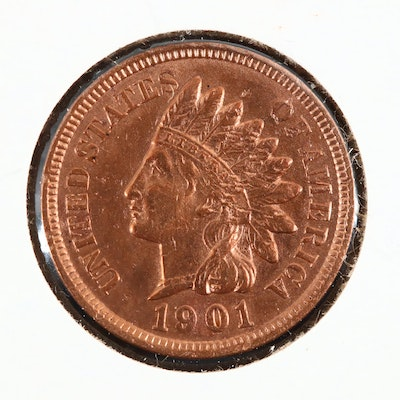A 1901 Indian Head Cent