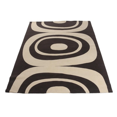 Modernist Style Tufted Sculpted Area Rug
