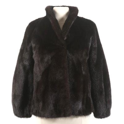 Blackglama Dark Ranch Mink Fur Jacket
