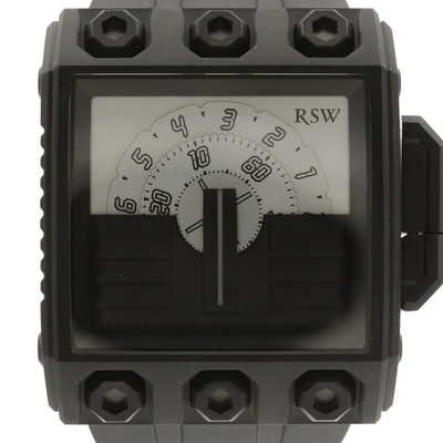 RSW Outland Black PVD Stainless Steel Automatic Wristwatch