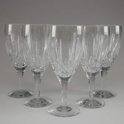 """Waterford Crystal """"Lismore Nouveau"""" Water Goblets"""