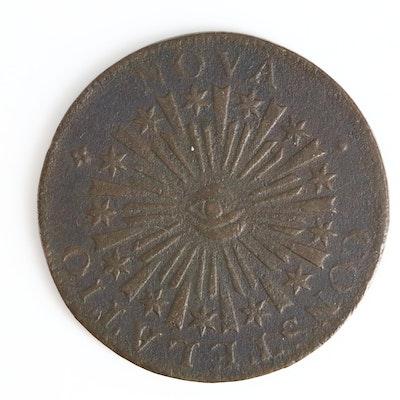 """A Pre-Federal 1783 """"Nova Constellatio"""" Copper Coin"""