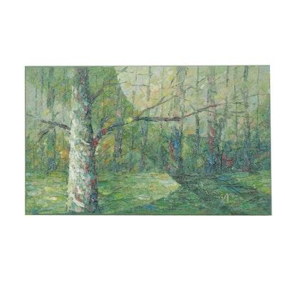 Man-Wai Wu Landscape Oil Painting