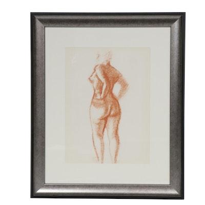 """André Derain Color Lithograph for """"Derrière le Miroir"""""""