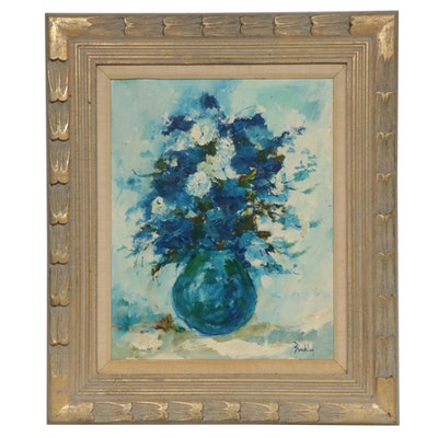 Buckley Floral Still Life Oil Painting