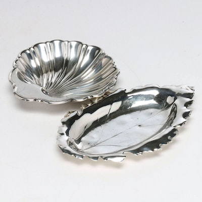 Gorham and Redlich Co. Sterling Silver Candy/Nut Dishes